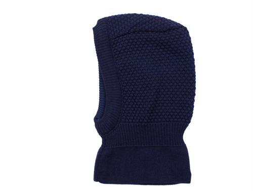MP balaclava Oslo dark navy wool/cotton