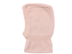 MP balaclava Oslo rose dust wool/cotton