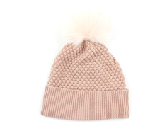 MP hat Chunky Oslo powder faux fur pom pom
