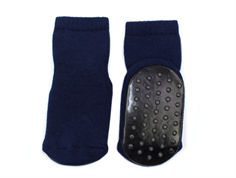 MP socks cotton navy with rubber soles
