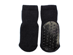 MP socks cotton anthracite with rubber soles