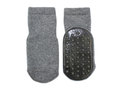MP socks cotton Eats gray with rubber soles