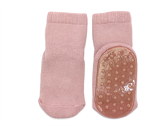 MP socks cotton rose with rubber soles