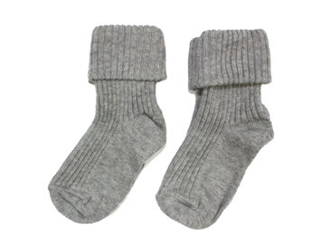 MP socks cotton gray (2-pack)