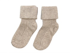 MP socks cotton light brown (2-Pack)