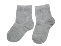 MP socks wool/cotton gray (2-Pack)