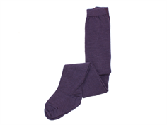 MP tights wool/cotton purple