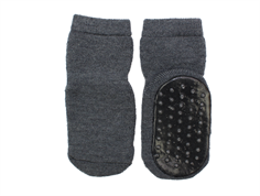 MP socks dark gray wool
