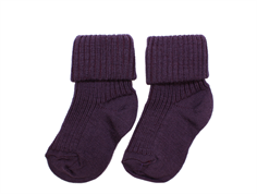 MP socks wool plum (2-Pack)