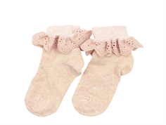 MP socks cotton peached