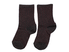 MP socks black copper dots glitter (2-pack)