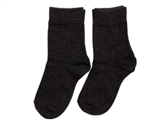 MP socks cotton black copper glitter (2-Pack)
