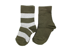 MP socks green/gray (2-Pack)