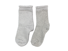 MP socks cotton gray glitter (2-Pack)