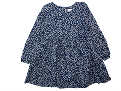 Mads Nørgaard Daisy dress navy blue flower