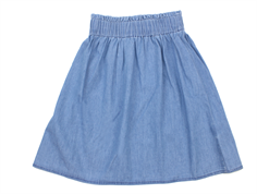 Mads Nørgaard skirt Stepina denim light blue