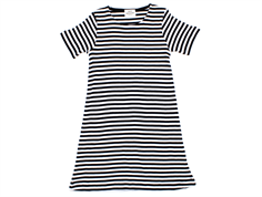 Mads Nørgaard Darling dress stripes black/white