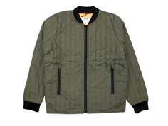 Mads Nørgaard Januno quilt jacket army