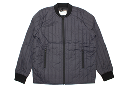 Mads Nørgaard thermosjacket Januno quilt obsidian
