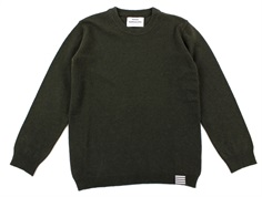 Mads Nørgaard sweater Karstino forest night recycled wool