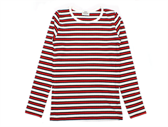 Mads Nørgaard blouse Talino stripes red/black