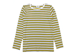 Mads Nørgaard blouse Talino stripes yellow/navy