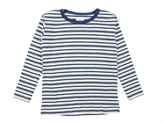 Mads Nørgaard Tobino t-shirt stripes dark denim