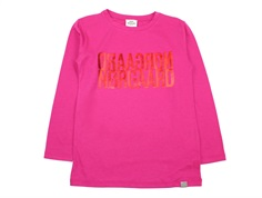 Mads Nørgaard t-shirt Tuvina hot pink