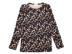 Mads Nørgaard blouse Talino brown leopard