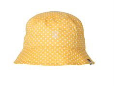 Mads Nørgaard summer hat yellow/white dot