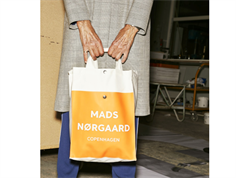 Mads Nørgaard bag tote off-white/gray/orange