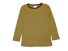Mads Nørgaard t-shirt/blouse Tobino golden yellow
