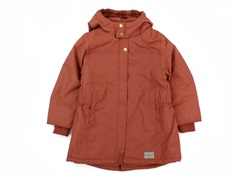MarMar Olga winter jacket dark brick
