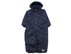 MarMar Ollie snowsuit darkest blue starflake