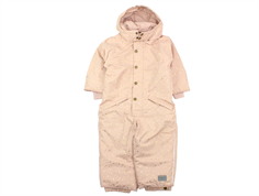 MarMar Ollie snowsuit dusty rose starflake