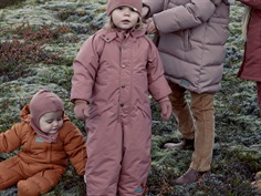 MarMar Ollie snowsuit rose blush