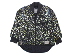 MarMar Orry thermosjacket black leo print