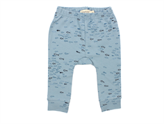 MarMar Pax pants blue fish print