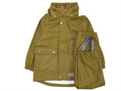 MarMar rainwear Osmund pants and jacket dark olive