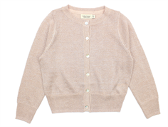 MarMar Tilda cardigan burnt rose glitter