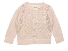 MarMar Tita cardigan sheer rose