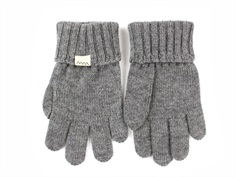 MarMar Ash finger mittens gray cotton/wool