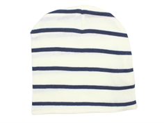 MarMar beanie modal stripes white/blue