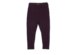 MarMar leggings Pippi dark plum wool