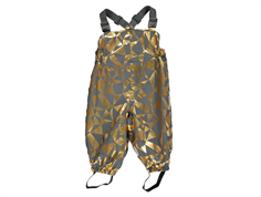 MarMar Oliver Pant gold chess