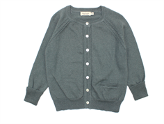MarMar cardigan Tillie dusty green wool/cotton