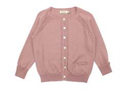 MarMar cardigan Tillie rose nut wool/cotton