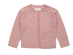 MarMar cardigan Totti rose nut wool/cotton