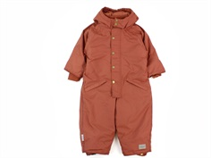 MarMar Ollie snowsuit dark brick