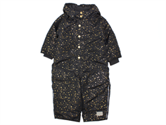 MarMar Ollie snowsuit black star flake